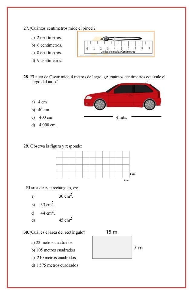 4 b sico 2015diagn stico for Cuanto es un cuarto
