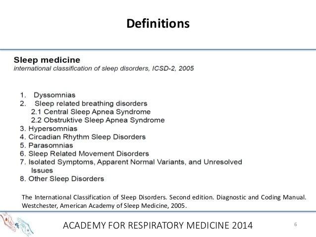 international classification of sleep disorders 3 pdf