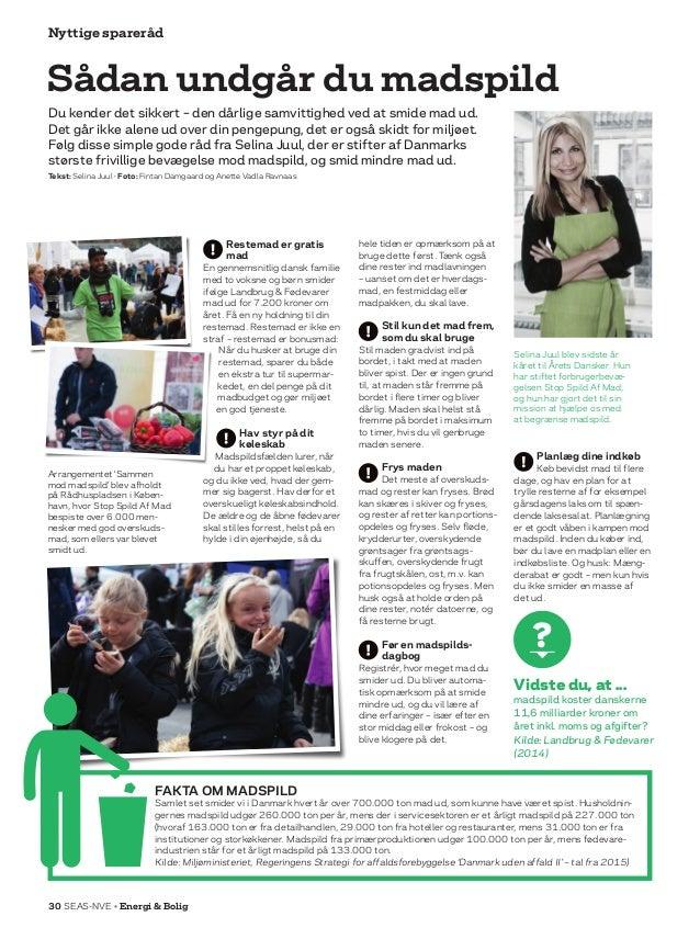 Nyttige spareråd Restemad er gratis mad En gennemsnitlig dansk familie med to voksne og børn smider ifølge Landbrug  Fødev...