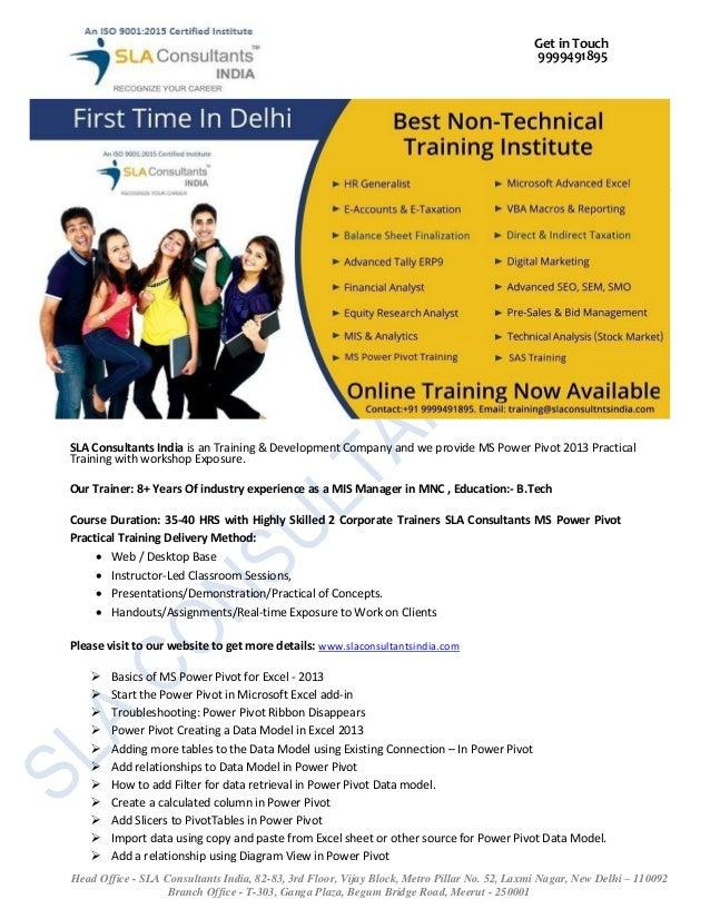 Get in Touch 9999491895 Head Office - SLA Consultants India, 82-83, 3rd Floor, Vijay Block, Metro Pillar No. 52, Laxmi Nag...
