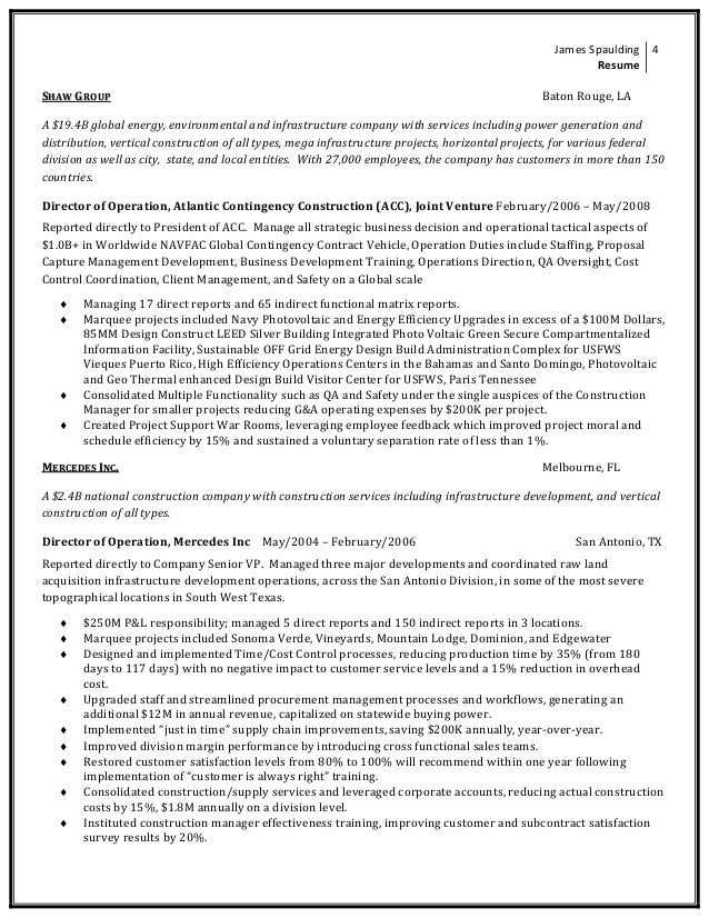 Contemporary Global Energy Resume Collection - Administrative ...