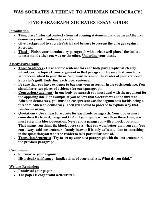 socrates essay project was socrates a threat to athenian democracy five paragraph socrates essay guide introduction
