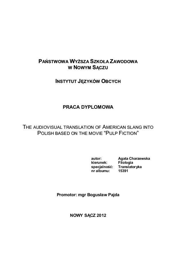 master thesis tlumaczenie