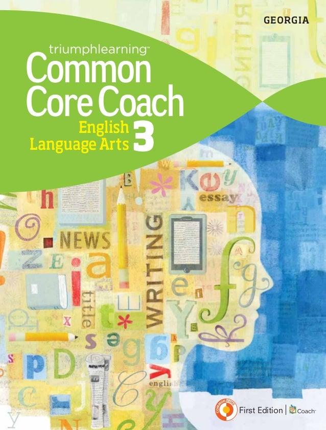 EnglishLanguageArts 3CommonCoreCoachFirst EditionGEORGIA