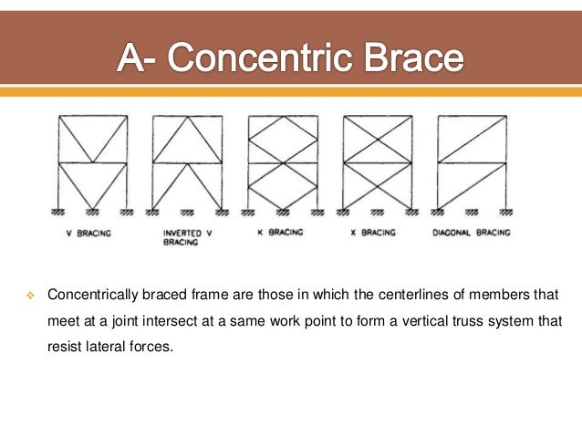 Connection and Bracing