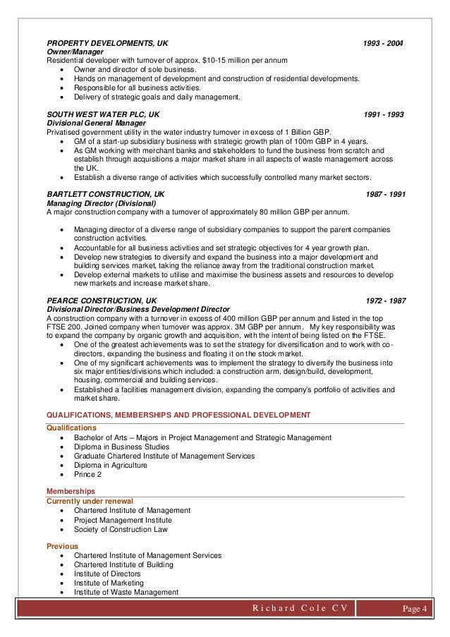 cover letter and cv 2017