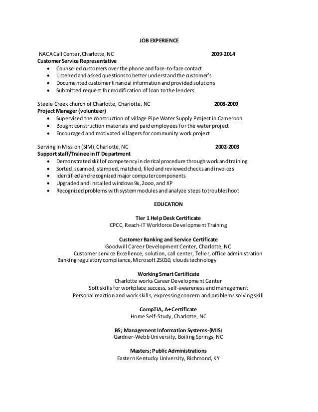 IT Resume PDF Heidi
