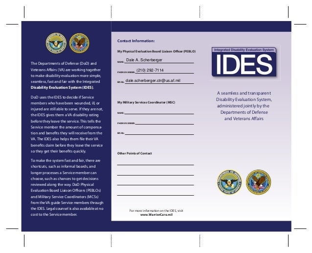 6 IDES Tri-Fold
