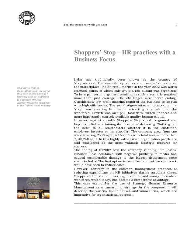 hrm strategy in a case study To download starbucks' human resource management policies and the growth challenge case study  » hrm short case studies.