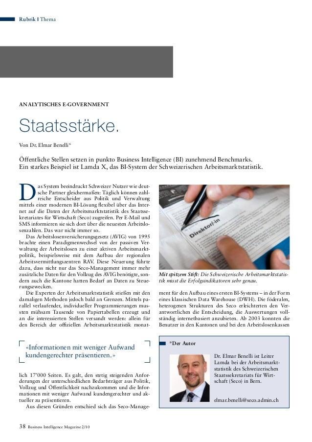 as System beeindruckt Schweizer Nutzer wie deut- sche Partner gleichermaßen: Täglich können zahl- reiche Entscheider aus P...
