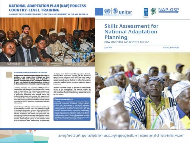 Capacity Development for Effective Integration of Agriculture into National Adaptation Plans (NAPs) and Sustainable Implem...