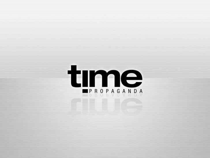 Cases Time Propaganda - II Semana de Comunicação CEUT