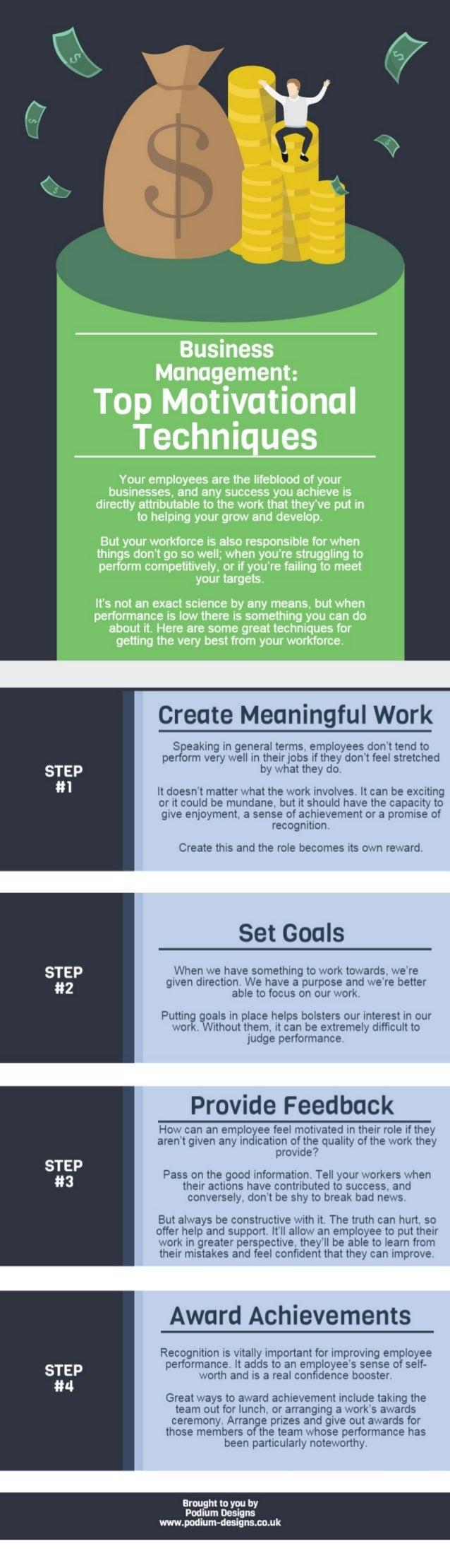 Top Motivational Techniques