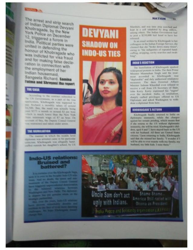 A report on Khobragade Arrest- by Samina Fatma