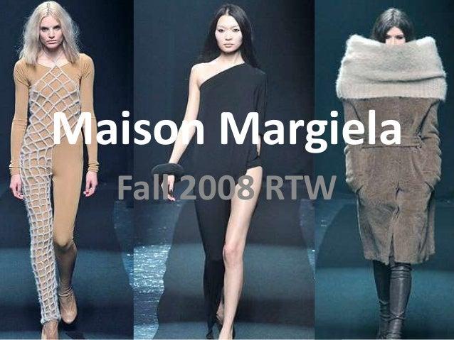 Maison Margiela Fall 2008 RTW