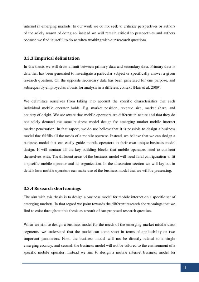 mobile internet dissertation With the development of mobile technologies, the use of mobile internet service has spread rapidly the mobile internet can be considered from different perspective specifically, this dissertation studied mobile internet service from the customers' perspective to conduct this research in the.