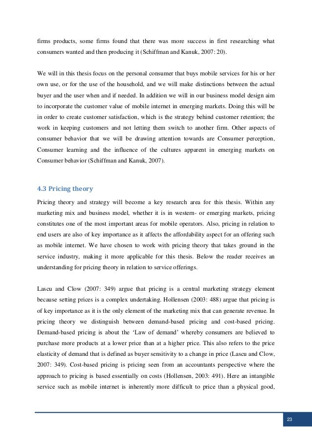 mobile internet thesis 2014-01-29 factors that impact consumer adoption of mobile banking within the m-  computers and the internet  consumer adoption of mobile banking.