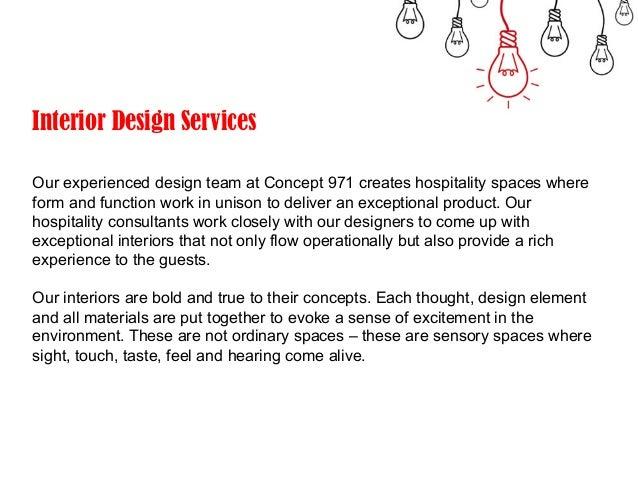 C 971 Description Of Services