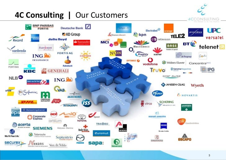 4C Consulting     Our Customers<br />3<br />