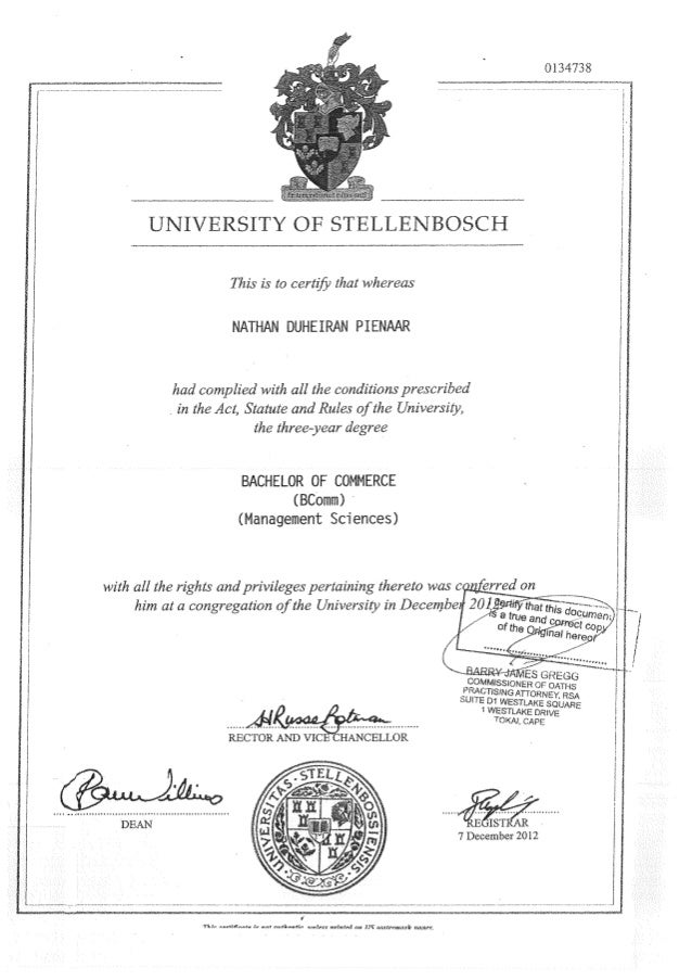US DEGREE AND ACADEMIC RESULTS (1)