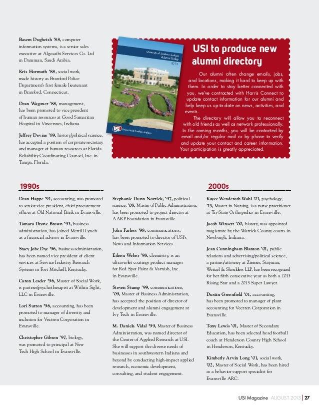 August 2013 USI Magazine