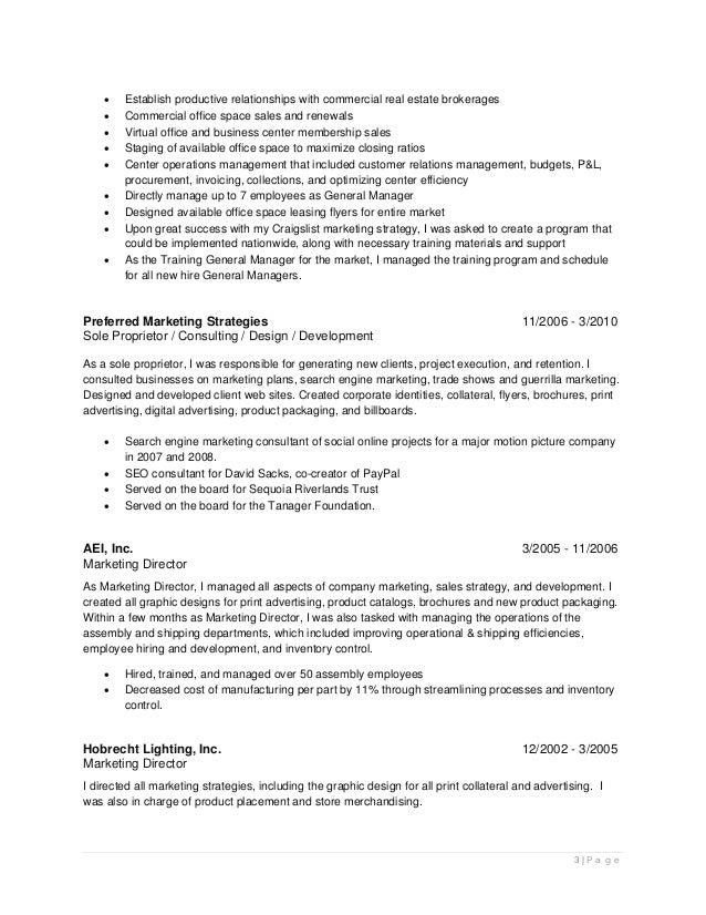 resume brett salisbury