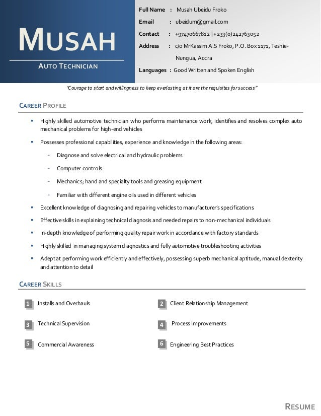 """RESUME """"Courage to start and willingness to keep everlasting at it are the requisites for success"""" CAREER PROFILE  Highly..."""