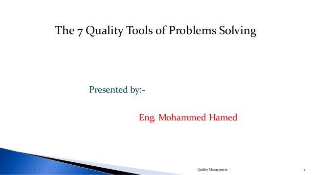 Quality Management Slide 2