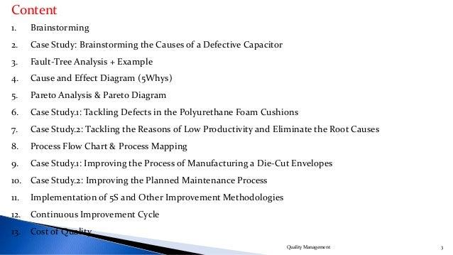 Quality Management Slide 3