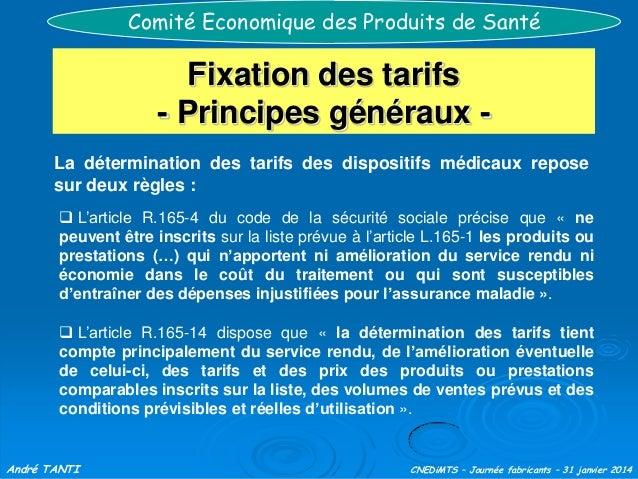 HAS - Journée des fabricants : Comité économique des ...