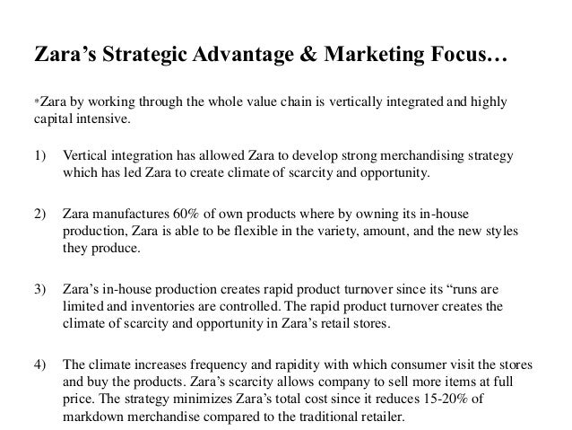 Zara Strategic Plan