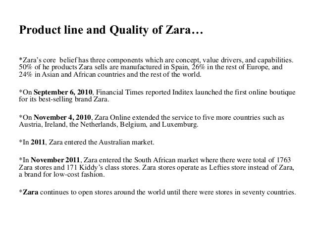 """resources and capabilities of zara Answer to zara: the capabilities behind the spanish """"fast fashion"""" retail giant amancio ortega built the world's largest fas."""
