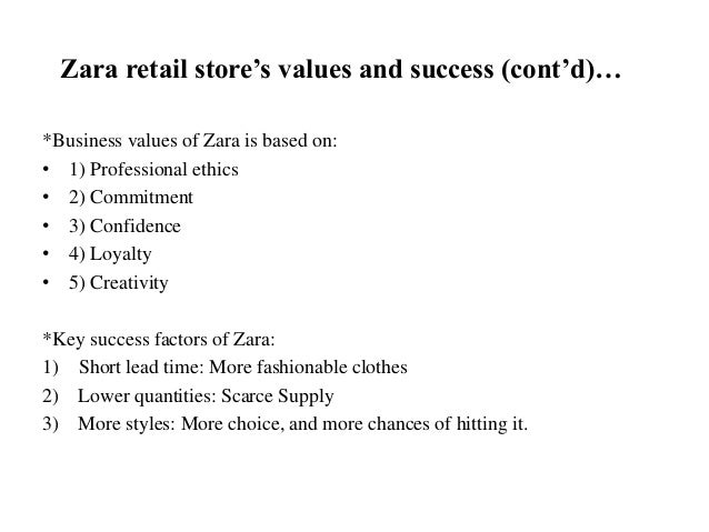Zara Marketing Plan Paper