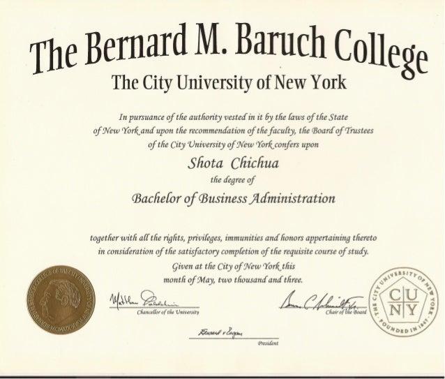 Bachelor's Diploma - Business