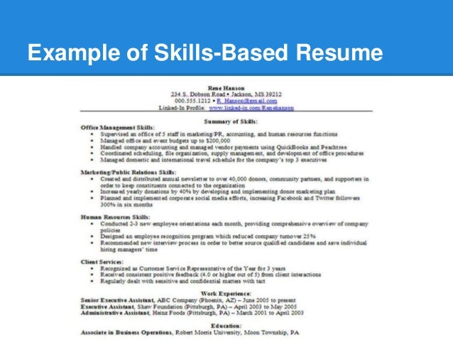 Sample skills based resumes ideas of key skills in resumes skill based resume skills summary altavistaventures Choice Image