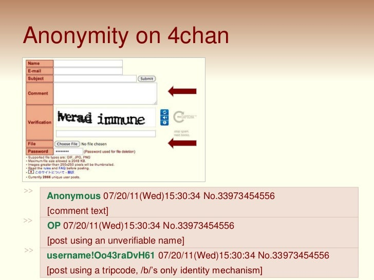 4chan and /b/: An Analysis of Anonymity and Ephemerality in