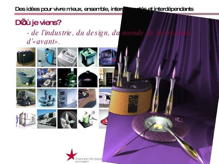 Copyright Movingideas Christian Roche 2009 / partager, innover et vivre autrement  Des idées pour vivre mieux, ensemble, i...