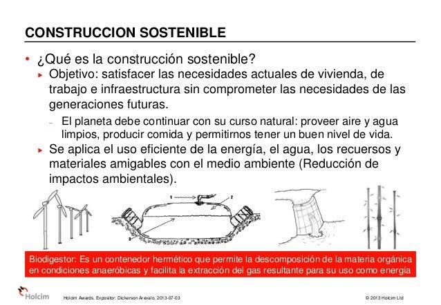 4° ciclo de holcim awards presentacion docentes Slide 3