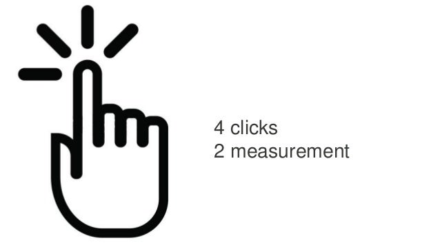 4 clicks 2 measurement
