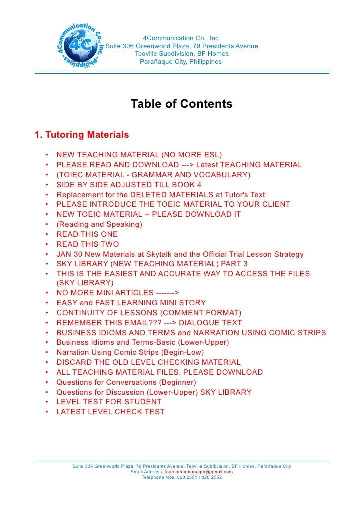4 c memo compilation Compilation c