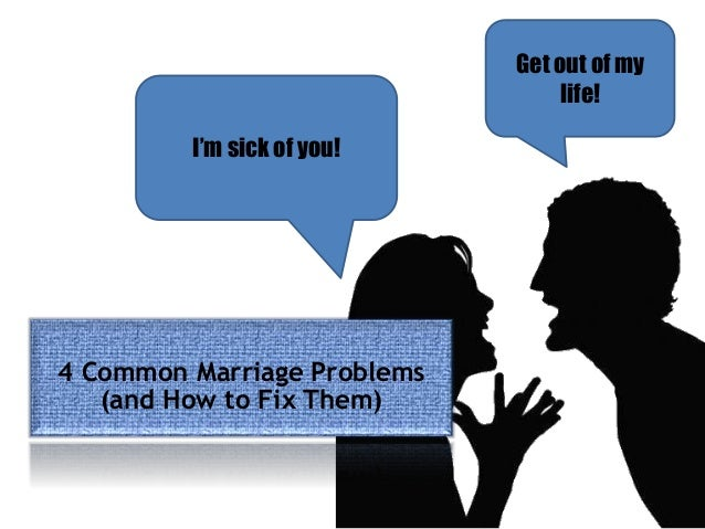 marriage problems Haven't had sex in a while stressing over your finances kids - what kids join the club here's what to do about your marital problems.