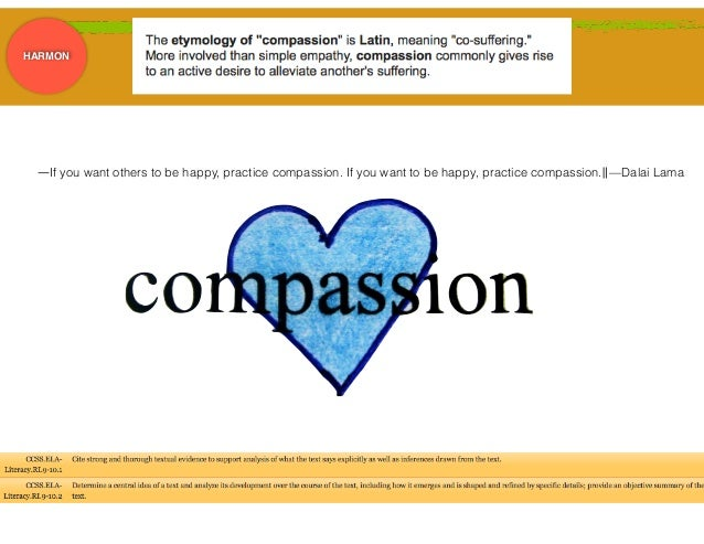 """On Compassion"" and ""Homeless"" Essay"