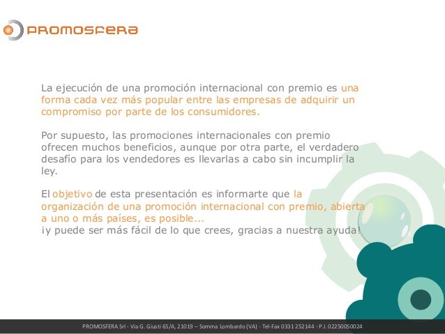 Concursos y Sorteos Internacionales Slide 3