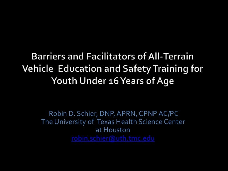 Robin D. Schier, DNP, APRN, CPNP AC/PCThe University of Texas Health Science Center                  at Houston         ro...