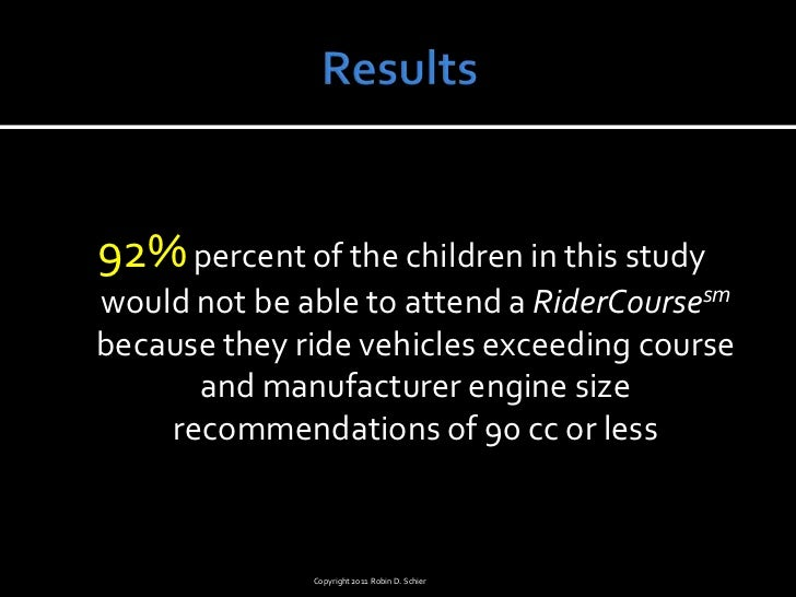 ATV Safety Summit: Training the Next Generation - Barriers