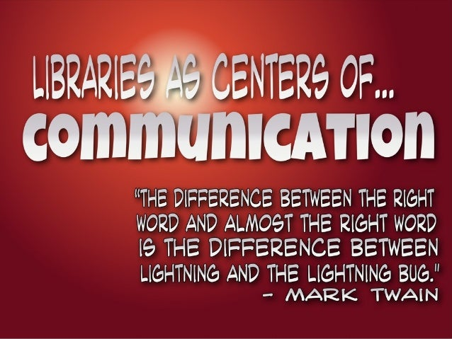 Beyond the Basics: Libraries as Centers for the 4Cs!