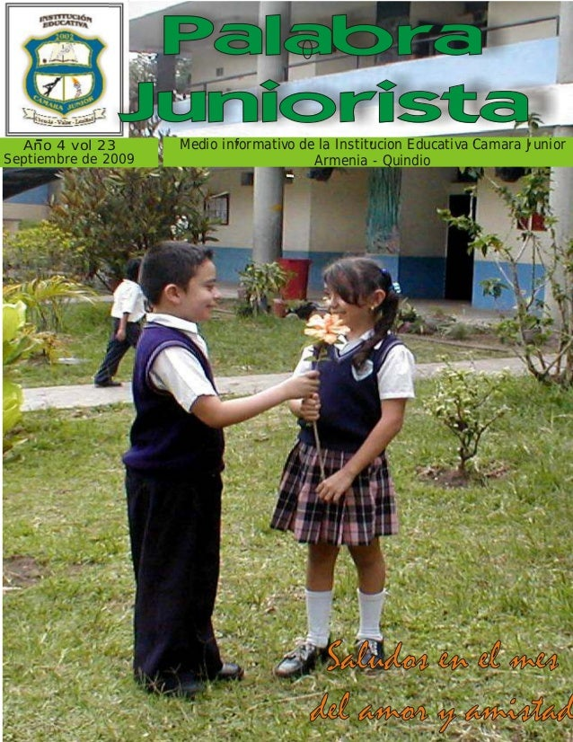 Palabra    -               Juniorista    '                   '               '        '  Ano 4 vol 23       Medio informat...