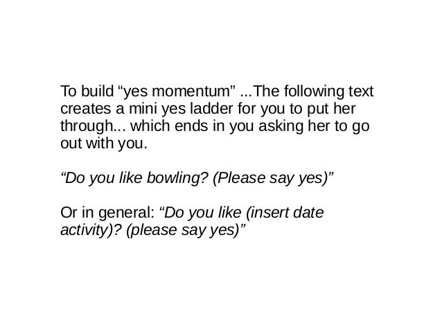 How To Ask A Girl For A Date By Text
