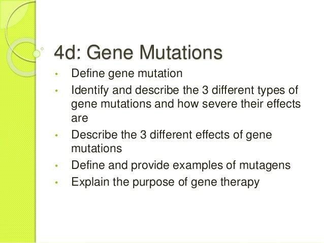 4d Gene Mutations