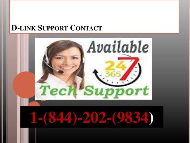 1-844-202-9834|D-Link Router Tech Support Number For Technical Help Slide 3